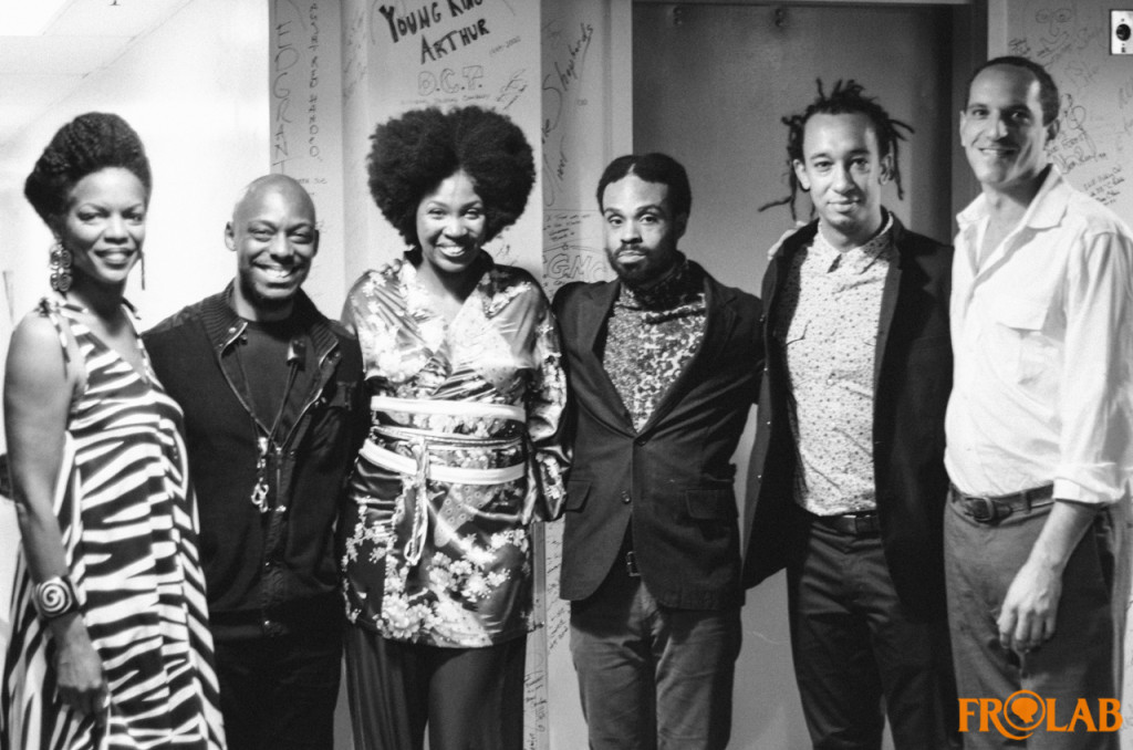 Photo Credit: Frolab - Carolina Soul Tribute  Nnenna Freelon, Marcus Strickland, Ndambi, Gerald Clayton and Miguel Atwood-Ferguson