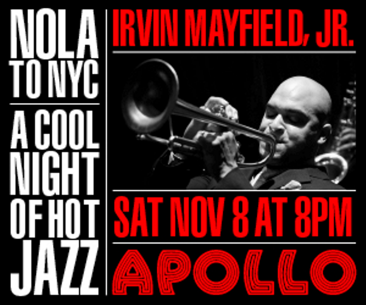 11/7 - 11/8: Apollo Walk of Fame + Irving Mayfield's Jazz Playhouse