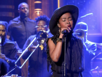 "Ms. Lauryn Hill Performs ""Feeling Good"" On Tonight Show"