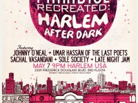 harlem after dark, smalls paradise recreated, johnny o'neal, umar hassin, the last poets, sachal vasandani,