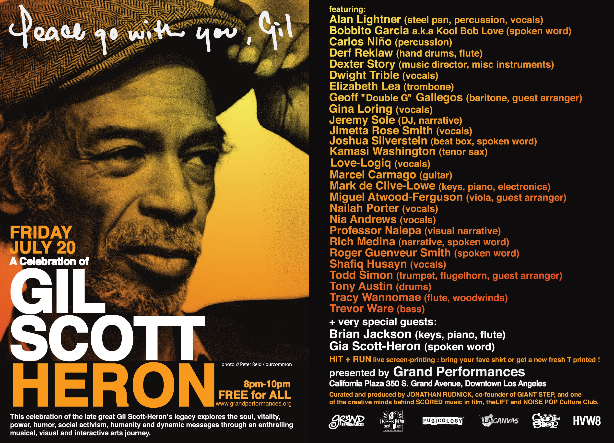 Gil Scott Heron acapella