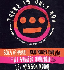Souls of Mischief's 'There Is Only Now' Album Release Party @ Le Poisson Rouge