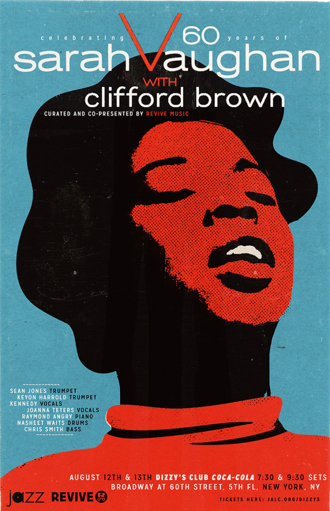 Celebrating 60 Years of Sarah Vaughan and Clifford Brown at Dizzy's Club Coca Cola