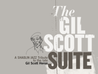 The Gil Scott Suite Cover Art by Shamona Stokes