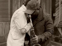 """Saxophonist Jaleel Shaw Links With Dres (of Black Sheep) In The Official Video For """"Flight"""" (Energy) Shot By Robert Adam Mayer With Editing From Sean Colello."""