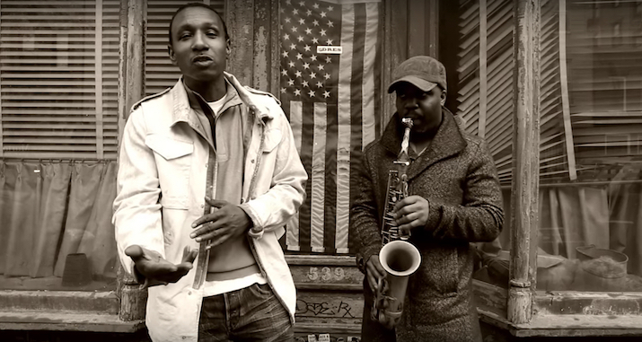 "Saxophonist Jaleel Shaw Links With Dres (of Black Sheep) In The Official Video For ""Flight"" (Energy) Shot By Robert Adam Mayer With Editing From Sean Colello."