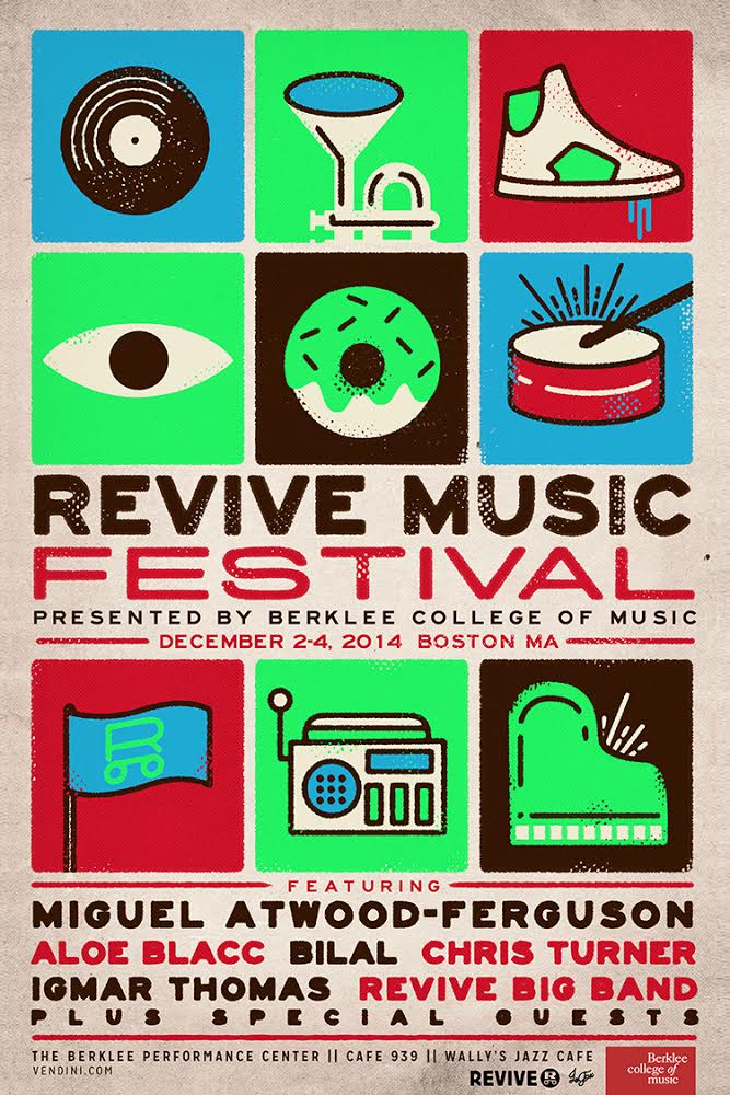Revive Music Festival December 2-4 at Berklee College of Music